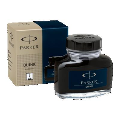 Flacon Quink - Encre bleue/noire