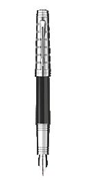 Premier Custom Tartan Fountain Pen - Medium 18K gold nib