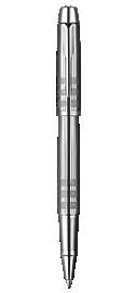 IM Premium Shiny Chrome Metal Chiselled Rollerball