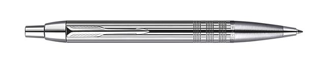 IM Premium Shiny Chrome Metal Chiselled Ballpoint