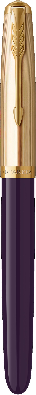 Parker 51 Deluxe Plum Fountain Pen