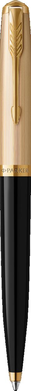 Parker 51 Deluxe Black Ballpoint Pen