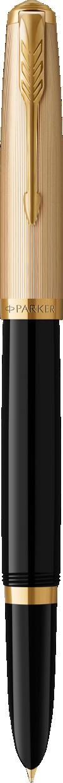 Parker 51 Deluxe Black Fountain Pen