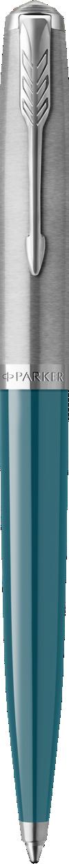 Parker 51 Teal Blue Ballpoint Pen