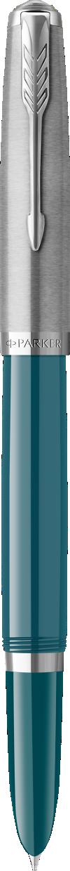 Parker 51 Teal Blue Fountain Pen